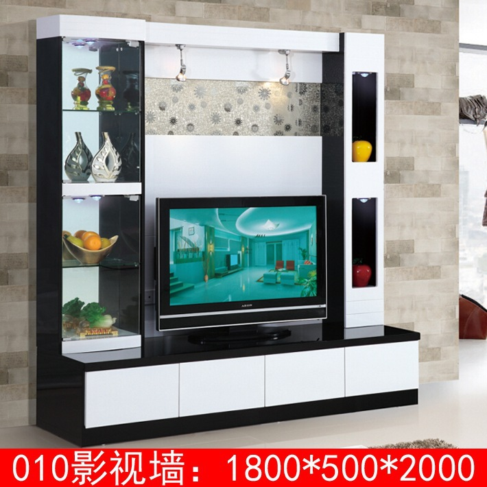New arrival modern tv stand wall units designs 010 lcd tv - Table de tv led ...