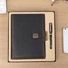 Promotional Write Usage A5 Pu Leather Notebook Customized Inner Pages Exercise School Note book Logo Notebook diary