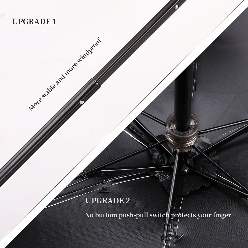Chinese supplier quality products Mini Travel Sun and Rain Umbrella 95% UV Protective 5 folding Umbrella From Chinese Supplier