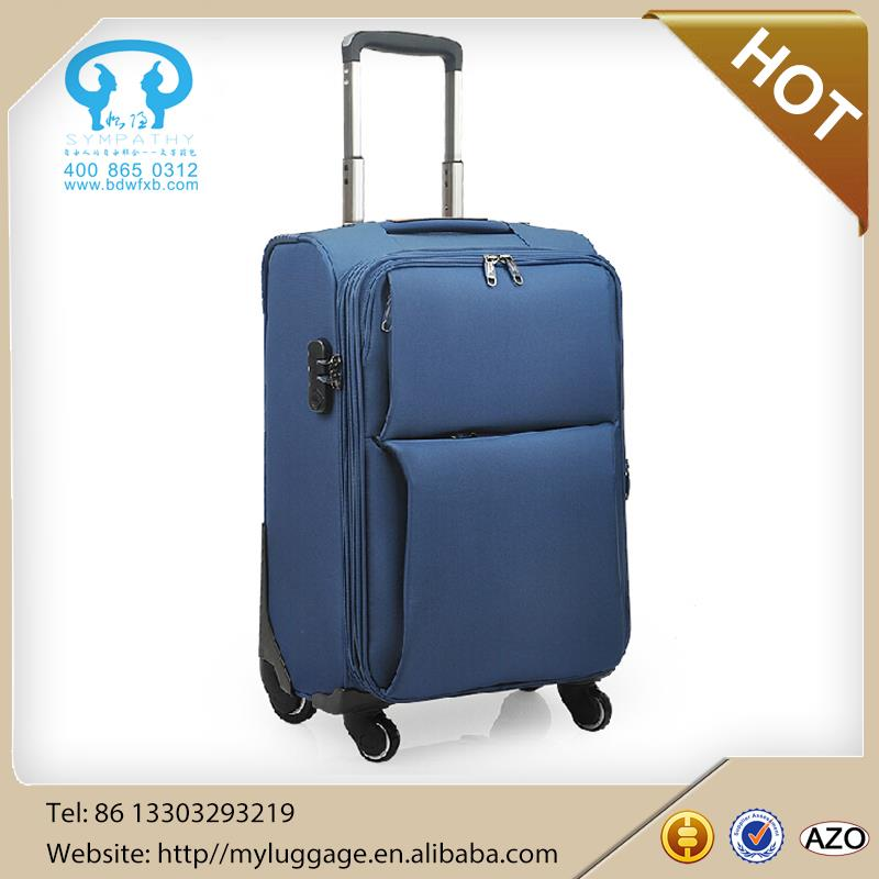 2015 hot sale Polo trolley travel luggage Soft polo luggage