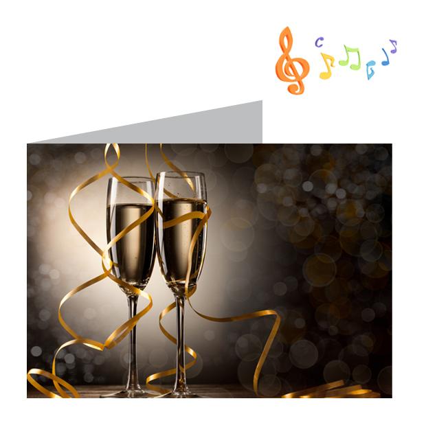 Tarjetas De Felicitación De Aniversario Con Sonido Personal