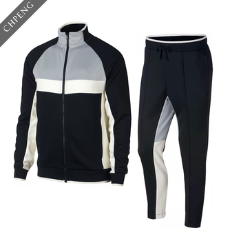 4116edfae8d latest design your own tracksuit with gym couple sports plain tracksuits