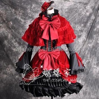 high quality kushina anna cosplay costume sexy dress anime cosplay costumes lolita dress uniforms halloween costumes