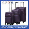 3 pieces soft Nylon cheap travel luggage bag