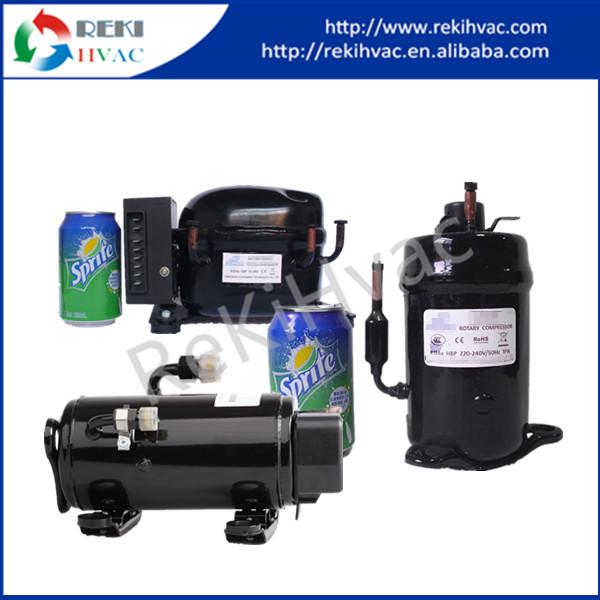 R134a Dc 12v Refrigeration Compressor Horizontal Rotary Mini ...