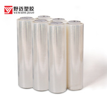 Factory Supply Wrap <span class=keywords><strong>Stretch</strong></span> Film Lage Prijs Plastic <span class=keywords><strong>Stretch</strong></span> Film Jumbo Rollen in Qingdao Fabrikant