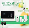 2016 new products wifi wireless gsm home security system with smart socket