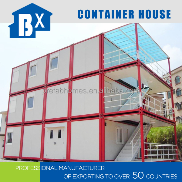 Eco-Friendly Easy Installation Prefab Containers