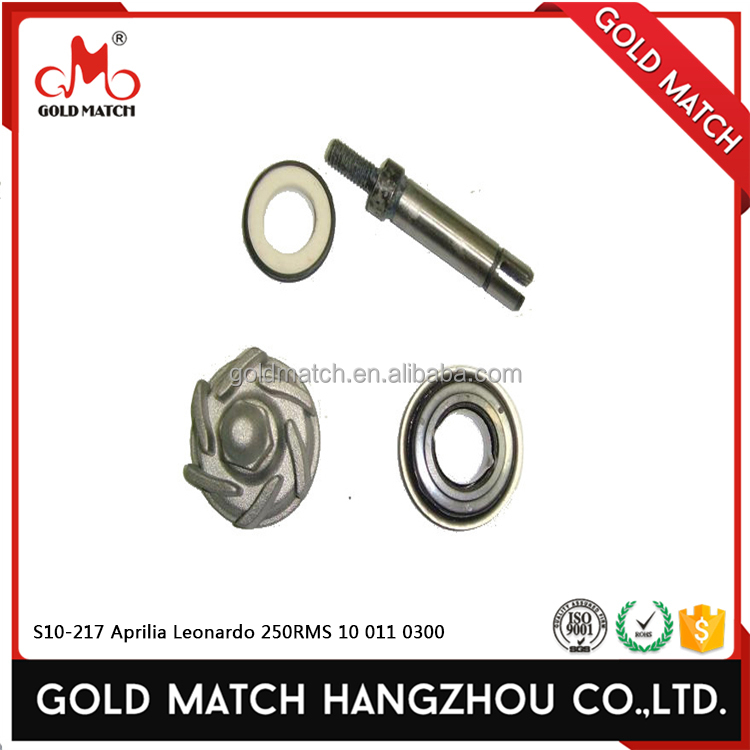 Hangzhou motorcycle parts water pump repair kit for s10-217 aprilia leonardo 250 rms 10 011 0300