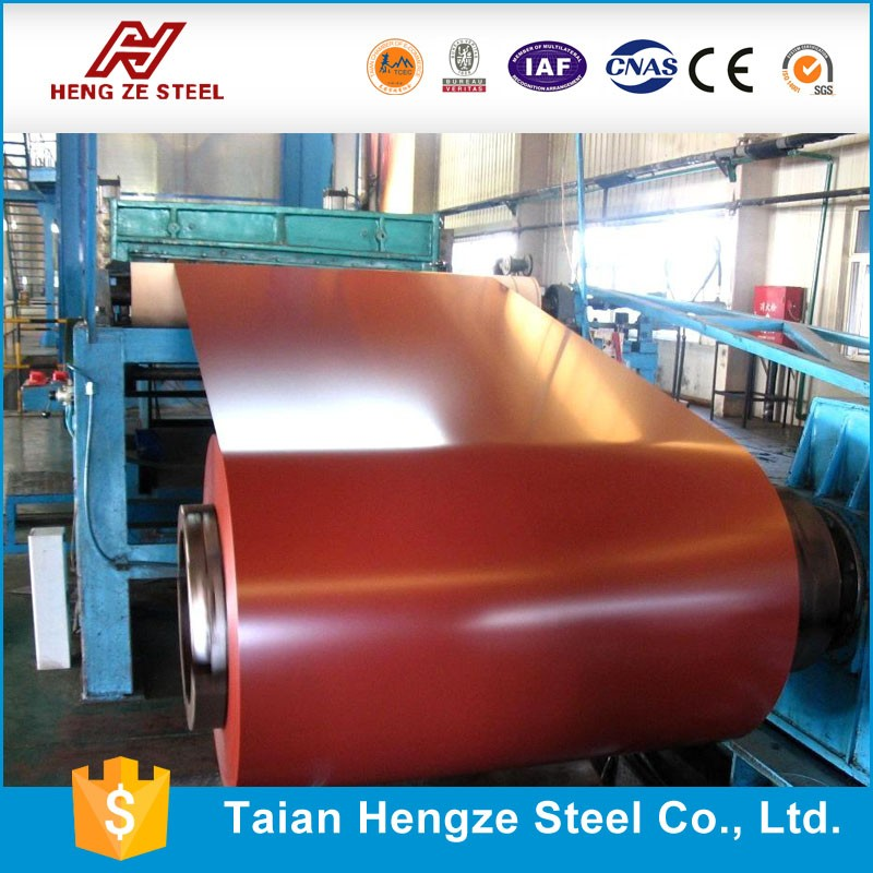 RAL 3009 High Quality Prepainted Galvanized Steel Coil PPGL Price