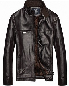 leather jacket / winter jacket / man jacket
