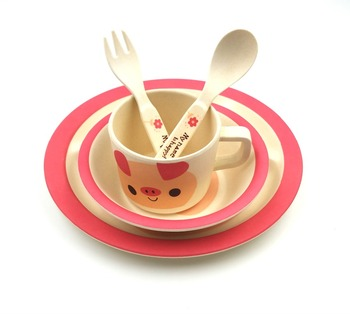 Baby kids dinner set/pig dinnerware/children tableware  sc 1 st  Alibaba & Baby Kids Dinner Set/pig Dinnerware/children Tableware - Buy Kids ...
