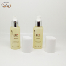 Popular design cosmetic frosted toner bottles for plastic packaging