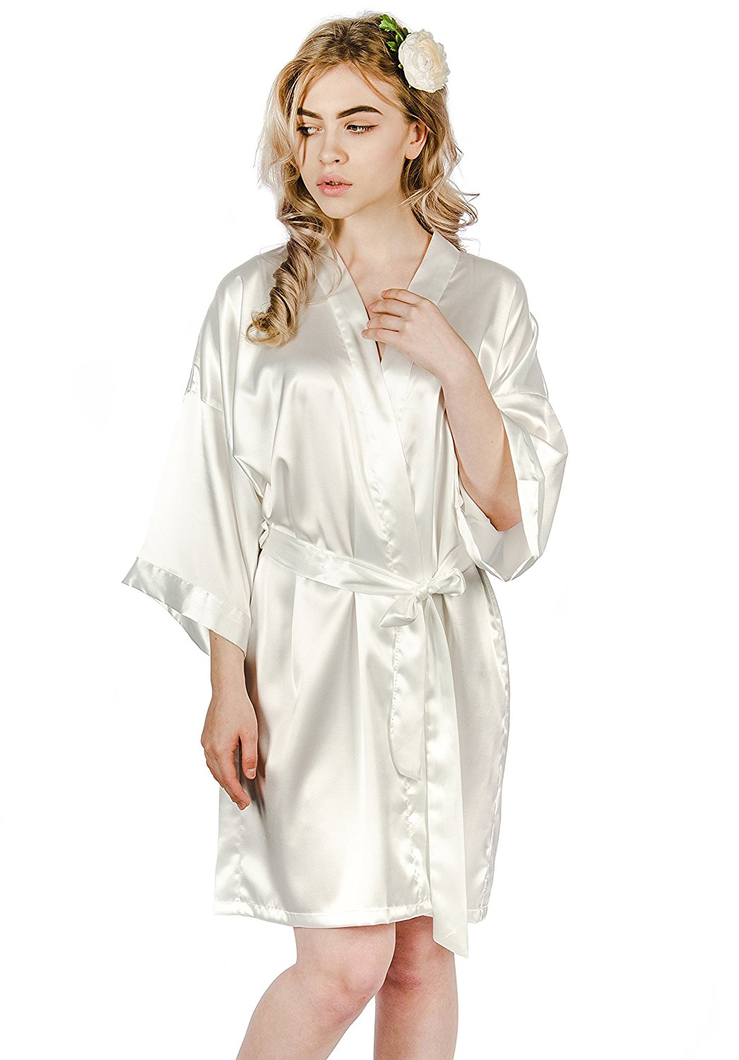 Get Quotations · Silky Robe 365f44451