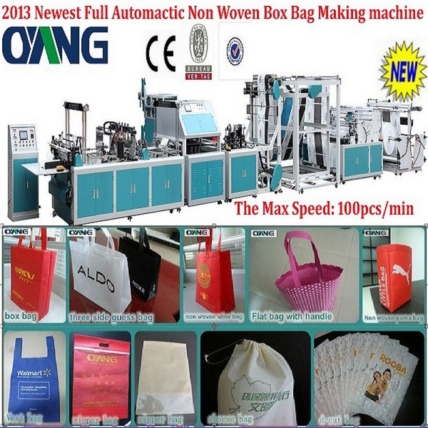 hot sale box type bag making machinerys