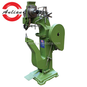 Leather trunk pneumatic riveting machine/rivet making machine/rivet machine