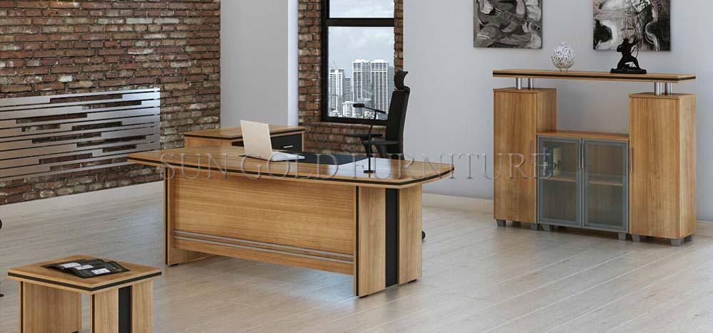 Bois Mobilier De Bureau Moderne Grand Bureau (sz-od294) - Buy Bureau ...