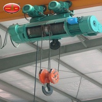 Lifting Tools Supply CD1 Type Cheap Wire Rope Electric Hoist / Electric Winch Price