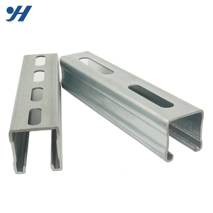 Building Materials Stainless C Type Channel Steel purlin, unistrut channels, slotted c channel