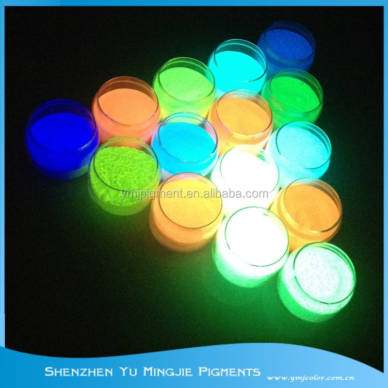 Factory Supply Glow In Dark Fluorescent Phosphor Powder