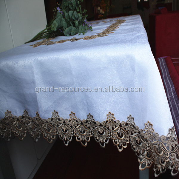 wholesale white big size table cloth