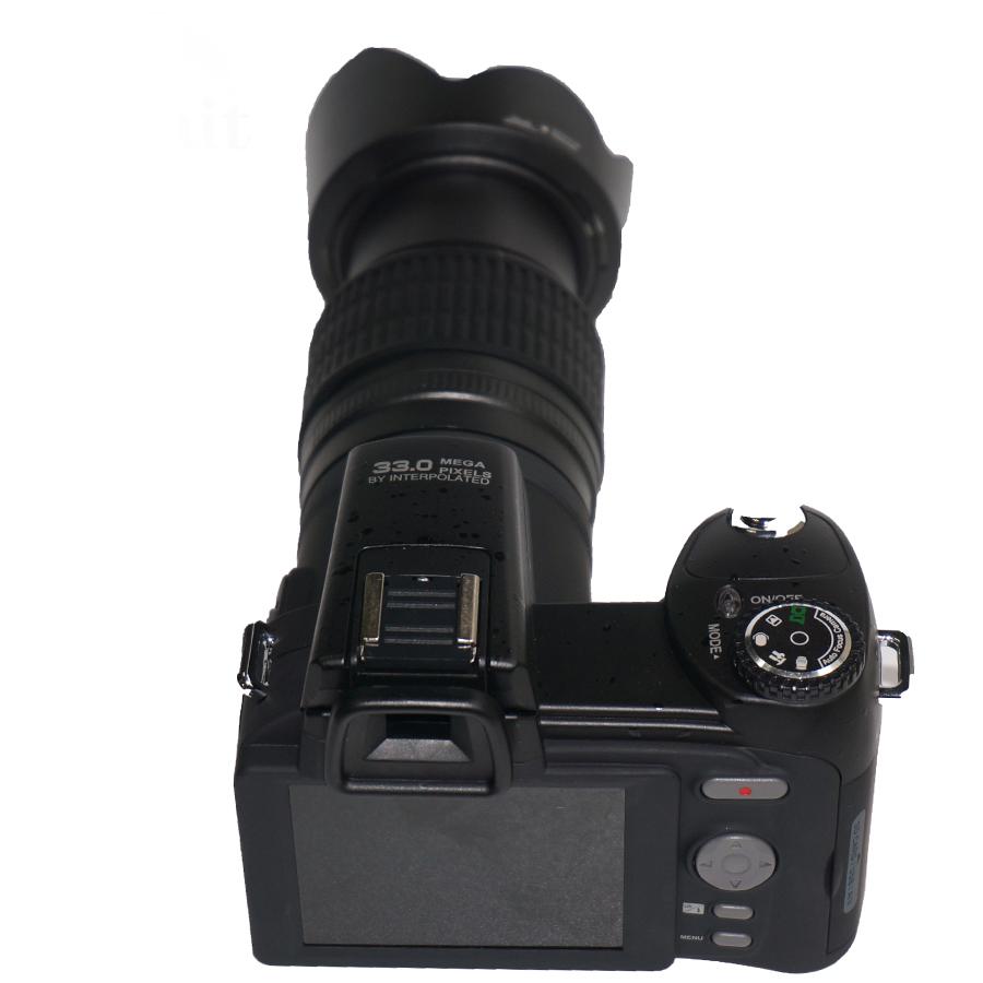 DC-7200 DSLR support 32G sd card video camera 33 Mega pixels digital camera dslr HD professional camera good quality wholesale