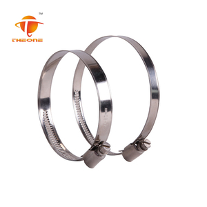 Galvanized Iron Or Stainless Steel Germany Type Hose Clip On Wholesale