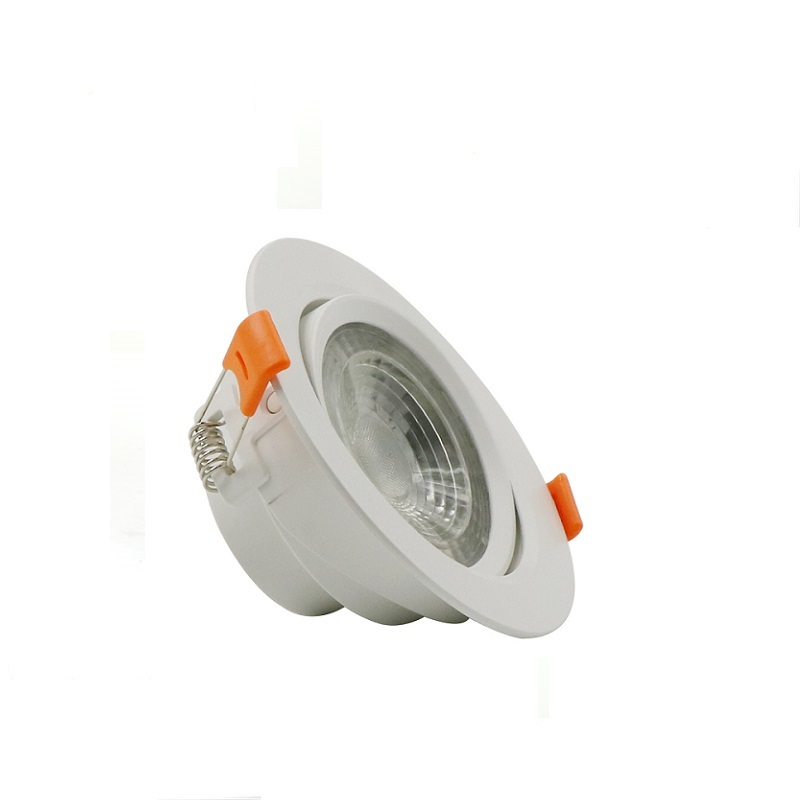 New surface mini plastic adjustable smd square round fire rated dimmable trimless recessed led <strong>downlight</strong>