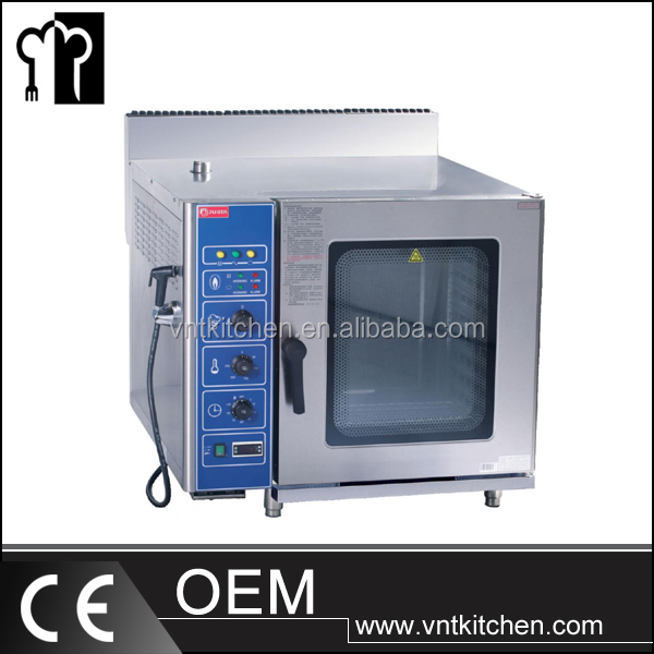 VNTK258-G 10 Trays Industrial Gas Combi Oven