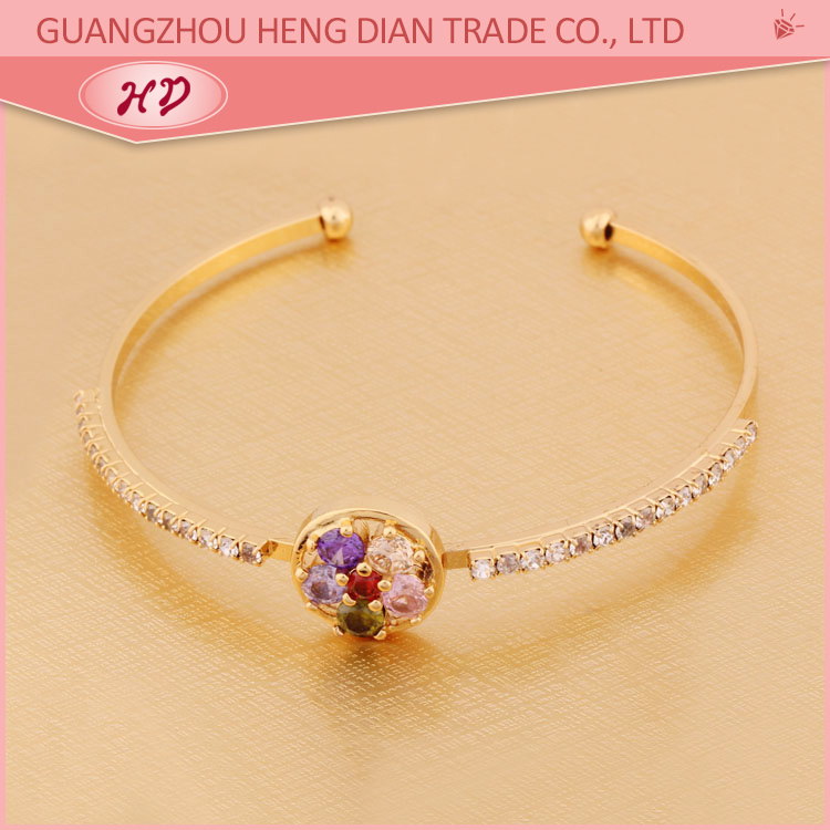 2015 Latest Design Fashion Fake Gold 1 Gram Gold Bangles Designs ...
