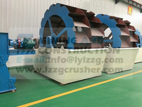 2015 hot sell stationary Washing Plant