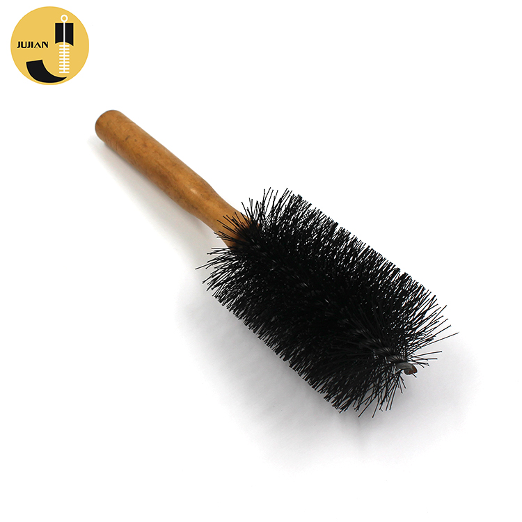 Private Label Retractable Badger Best Foundation Shaving Thermo Ceramic Bristle Hot Liquid Mineral Tube Round Brush