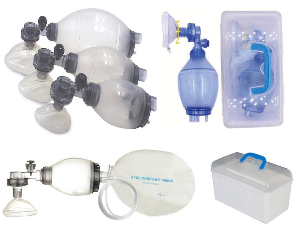 cpr masque respiratoire de sauvetage insufflateur de poche
