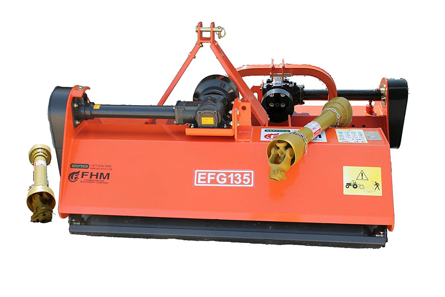 Farmer Helper 53″ Medium Duty Flail Mower, 3 point FH-EFG135 Requires a tractor. Not a standalone unit.