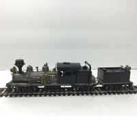 2015 chinese factory custom made handmade carved hot new products resin train miniature ho 4-4-4t Steam Locomotive