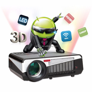 New LED86+ Portable HD LED Projector home theater equipment Support 1920 x 1080