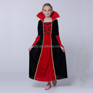 Kids Trendy Long Gown Dress Costume Girls