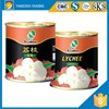 Canned food organic lychee fruit canned lychee in preserved fruit
