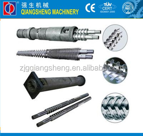 Concial Twin Screw Barrel for Plastic extrusion line/extrusion double screw