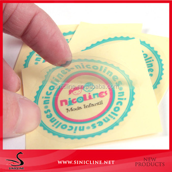Sinicline new design factory direct supply round shape stickers