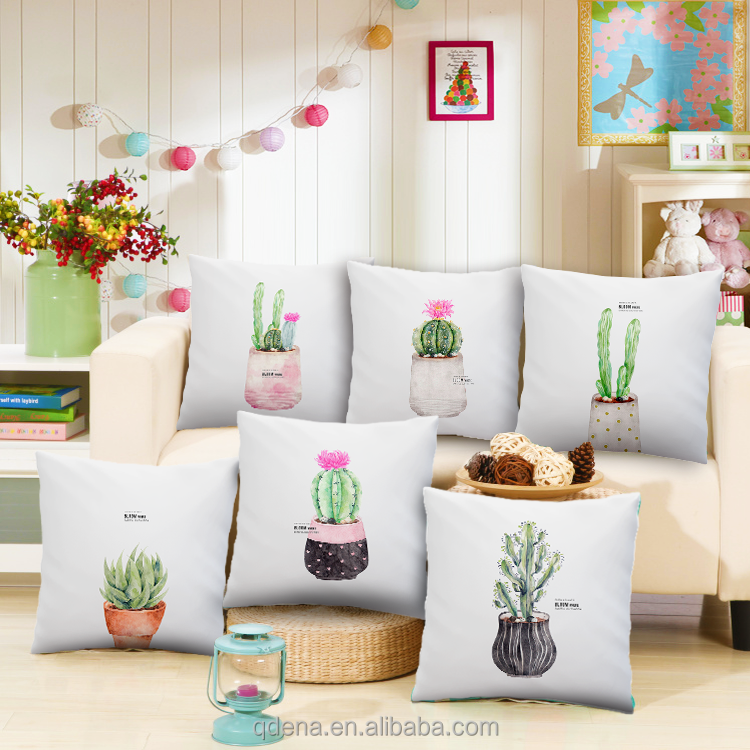 Wholesale High Quality Digital Printed Custom Cushion Covers Decorative