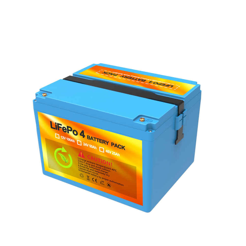 Solar power supply 12V 100Ah LiFePO4 solar batteries with LCD display monitor for home solar energy system
