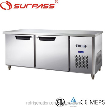 Undercounter D0.2L2PC Stainless Steel air cooling commercial chest style refrigerator