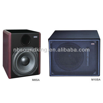 Active stage monitor speaker box M8SA