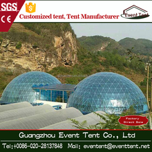 China Factory Price Stell Frame Tent Glass Yurt Tent For Sale