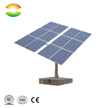 3.6KW dual axis solar panels tracking system