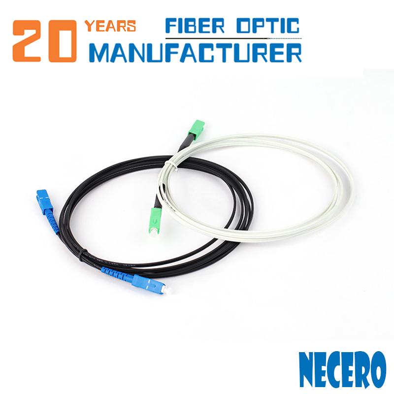 Necero 20 Jahre Glasfaser-Kommunikation kabel Ausrüstung Fabrik 100% Komponenten test Gepanzertes mpo mtp lc sc Patchkabel