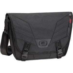 """Ogio PAGODA S Carrying Case (Messenger) for 13"""" Notebook - Black [117036.03] -"""