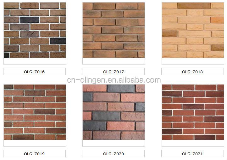 Cement thin brick veneer for outdoors decor buy thin for Glue on brick veneer