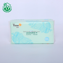 hot selling cheap wholesale customized white bulk-pack scented facial tissue raw material